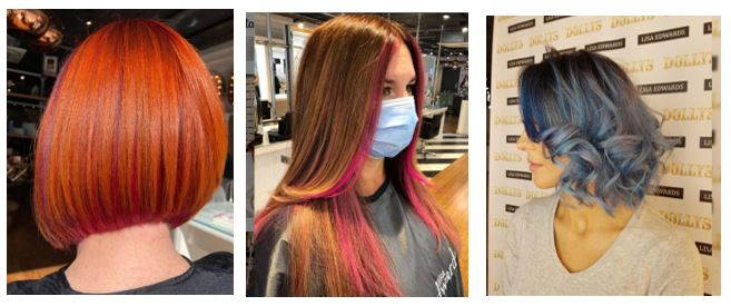 Fashion Hair Colours at Lisa Edwards Hair Salons in Chichester Fareham Petersfield